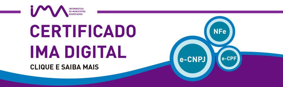 certificado ima digital