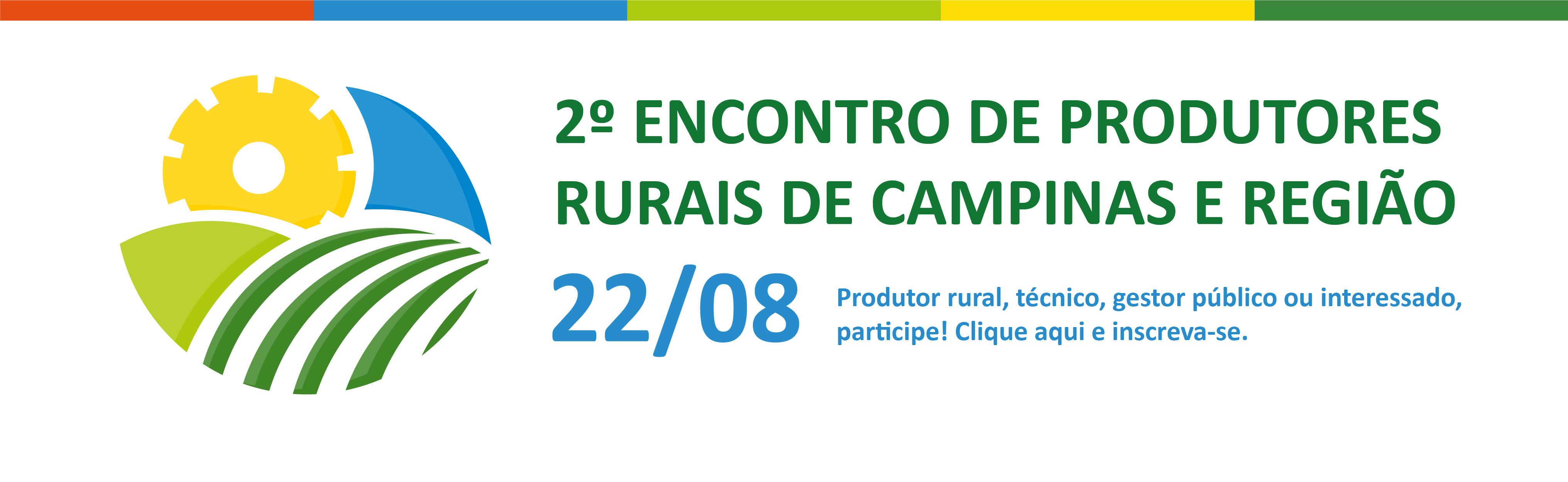 participe do encontro de produtores rurais