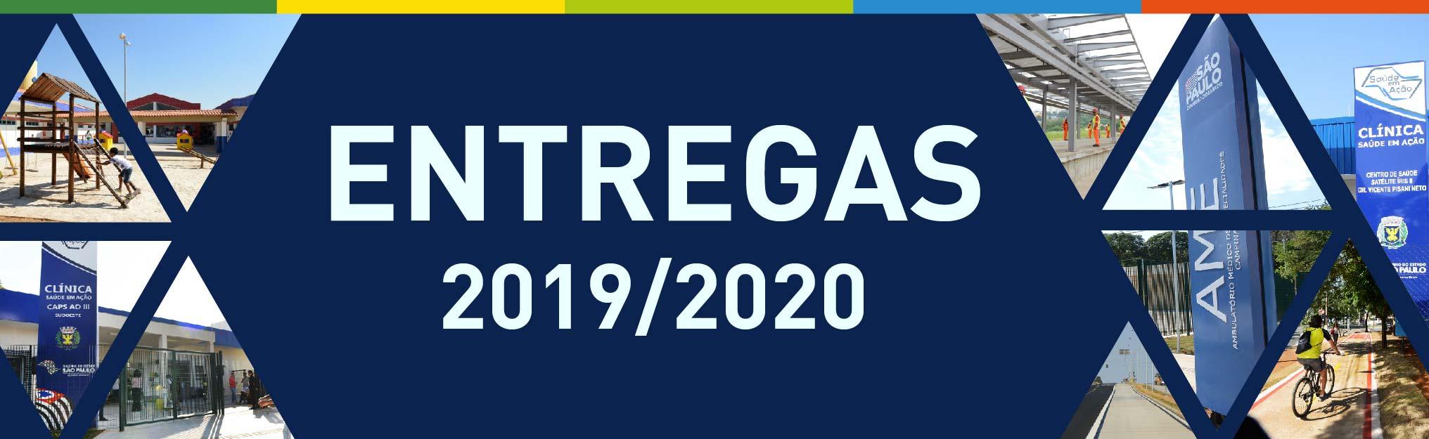 confira as entregas 2019 2020
